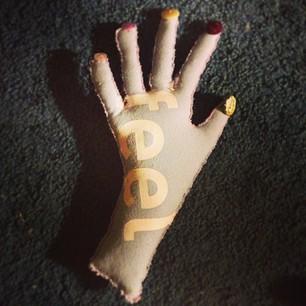 Plush Hand