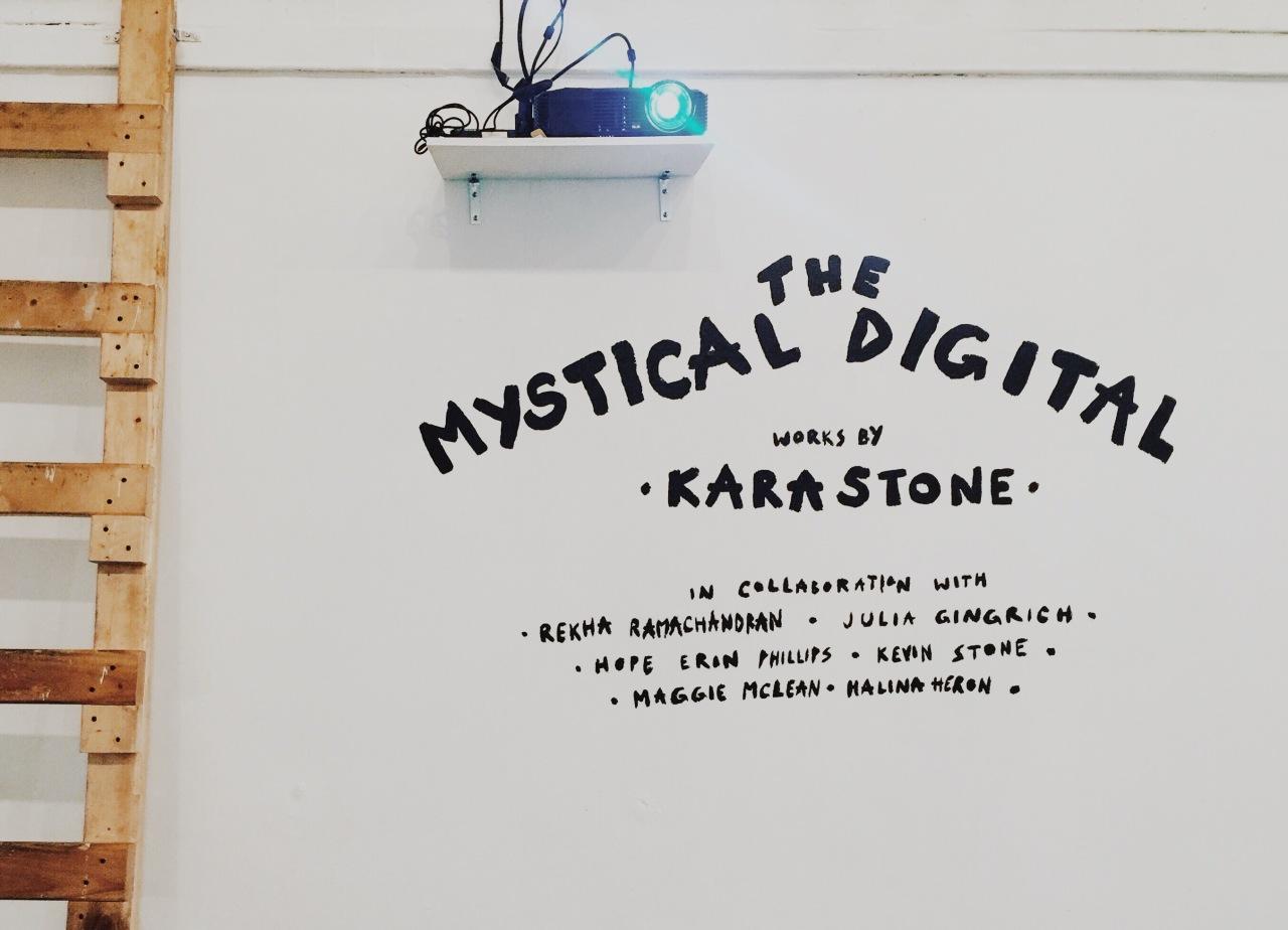 The Mystical Digital mural