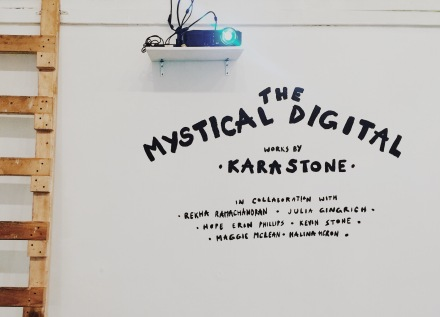 The Mystical Digital mural