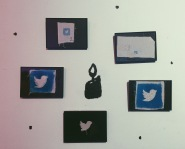 Ritual of the Moon handmade social media icons
