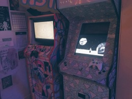 Cyclothymia and Ritual of the Moon in arcade cabinets