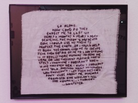 Ritual of the Moon embroidered dialogue